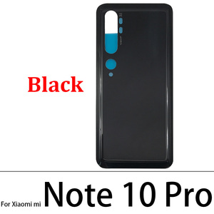 Image 3 - 10 Pcs/Lot Back Glass Battery Cover Rear Door Housing Case For Xiaomi Mi Note 10 / Note 10 / Mi CC9 Pro With Glue Adhesive