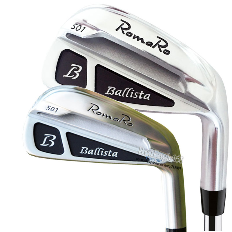 New Irons Set RomaRo Ballista 501 Golf Irons 4-9P Golf Clubs Steel Or Graphite Golf Shaft And Irons Grips Free Shipping