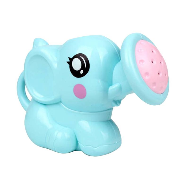 Baby Bath Toys Cute Small Elephant Plastic Watering Pot Beach Tool Accessories