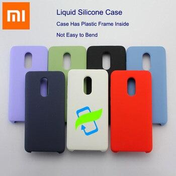 Xiaomi Redmi Note 8 Pro Case Liquid Silicone Back Cover XIAOMI Note 10 4 X 5 A 3 6 T S 2 Plus Mi A cc 9 E Lite 7 K30 Mix Play