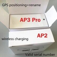 Hava Gen 3 AP3 H1 çip şeffaflık Metal menteşe kablosuz şarj Bluetooth kulaklık hava 2 AP2 kulakiçi 2nd nesil