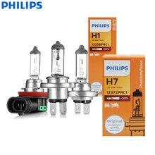 Philips h4 h7 h11 visão original auto lâmpada h1 h3 h8 h9 9005 9006 hb3 hb4 nevoeiro lâmpada de halogênio para honda civic vw ford (1pc)