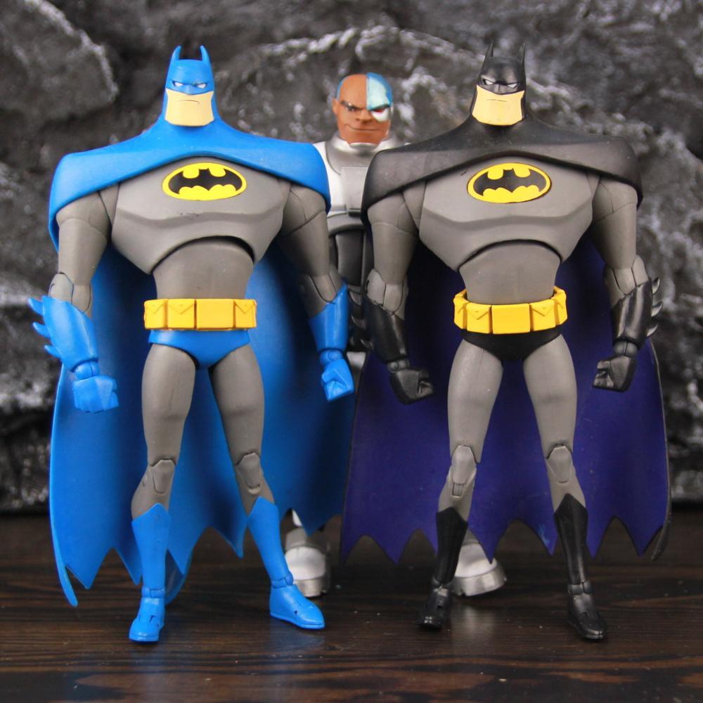 DC Multiverse Detektiv Variante Schwarz Blau Bat Cyborg Junges Titans Mann 7