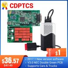 CDPTCS V3.0 NEC ממסרים Multidiag pro Bluetooth 2017 R3 אין סדק obd2 סורק עבור מכונית משאית כלים ערכת מוסך משלוח חינם