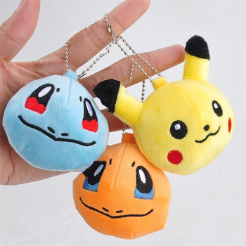 5Models , Stuffed Animals Key chain Plush Toys Dolls