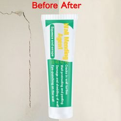 Home Valid Mouldproof Wall Mending Agent Wall Repair Cream Wall Crack Nail Repair Quick-drying Patch Restore Original