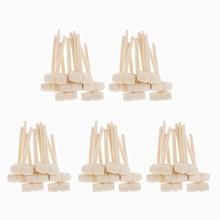 20/50/100 stück Mini Holz Hammer Balls Spielzeug Pfünder Ersatz Holz Schlägel Baby 3D Backen Werkzeuge