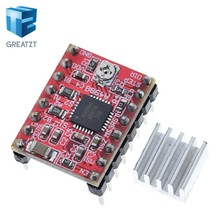 GREATZT CNC 3D Printer Parts Accessory Reprap pololu A4988 Stepper Motor Driver Module with Heatsink for ramps 1.4 Free Shipping(China)