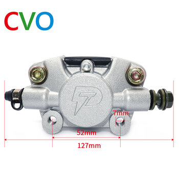 цена на CVO Motorcycle Brake Calipers Disc Brake Pump Adapter For 50cc 70cc 90cc 110cc 125cc 250cc Quad Go-Kart Taotao SunL Scooter Acce