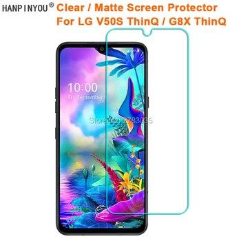 Перейти на Алиэкспресс и купить 3 шт для LG V50S ThinQ/G8X ThinQ 6,4 дюймпрозрачный глянцевый/антибликовый матовый протектор экрана Защитная пленка (не стекло)