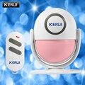 KERUI 125dB движения PIR сигнализации дверной звонок домой безопасности Беспроводной Управление охранная Сенсор Детектор Добро пожаловать дверн...