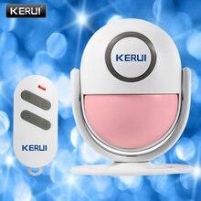Kerui 125db движения pir сигнализации дверной звонок домой безопасности