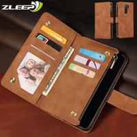Cartera con cremallera de cuero, funda para Xiaomi Mi M3 10T Lite Redmi Nota 10 9 8T 9 S 9A 9C 10X 8 8A 7A K30 Pro Max Flip funda de teléfono