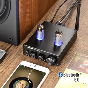Image 5 - AIYIMA 6K4 Tubo A Vuoto Amplificatore Preamplificatore Bluetooth 5.0 Bile Pre AMP Tubo A Vuoto Preamplificatore Con Alti Bassi Regolazione del Tono