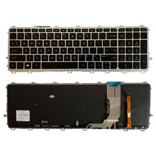 Клавиатуры для ноутбуков HP envy 15 J 15T J 15Z J 15 J000 15t j000 15z j000 15 j151sr с английской серебристой рамкой и подсветкой клавиатуры