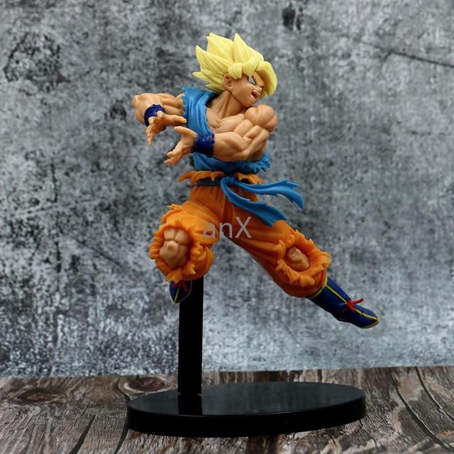 25 CM Dragon topu süper film Broly etiketi savaşçıları Goku Vegeta SSJ mavi saç şekil Brinquedos PVC aksiyon figürü oyuncakları çocuk hediye