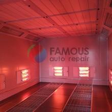 Спрей краска комната FMS8000 спрей покраска стенд цена для автомобиля