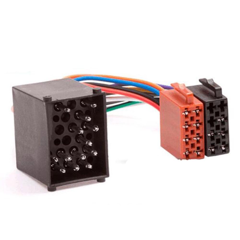 Car Radio ISO Adapter Switch Cable For BMW E36 E39 E46 E56 Mini Cooper For  LAND ROVER