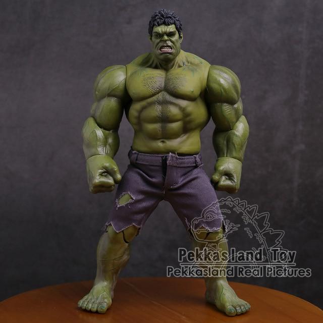 Экшн фигурка Мстители Халк супер герой ПВХ Коллекционная модель игрушка 25 см