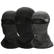 UPF50+ Cooling Cycling Headwear Neck Scarves Men Anti-sweat Breathable Face Cover Mask Summer Sports Hiking Balaclava Caps