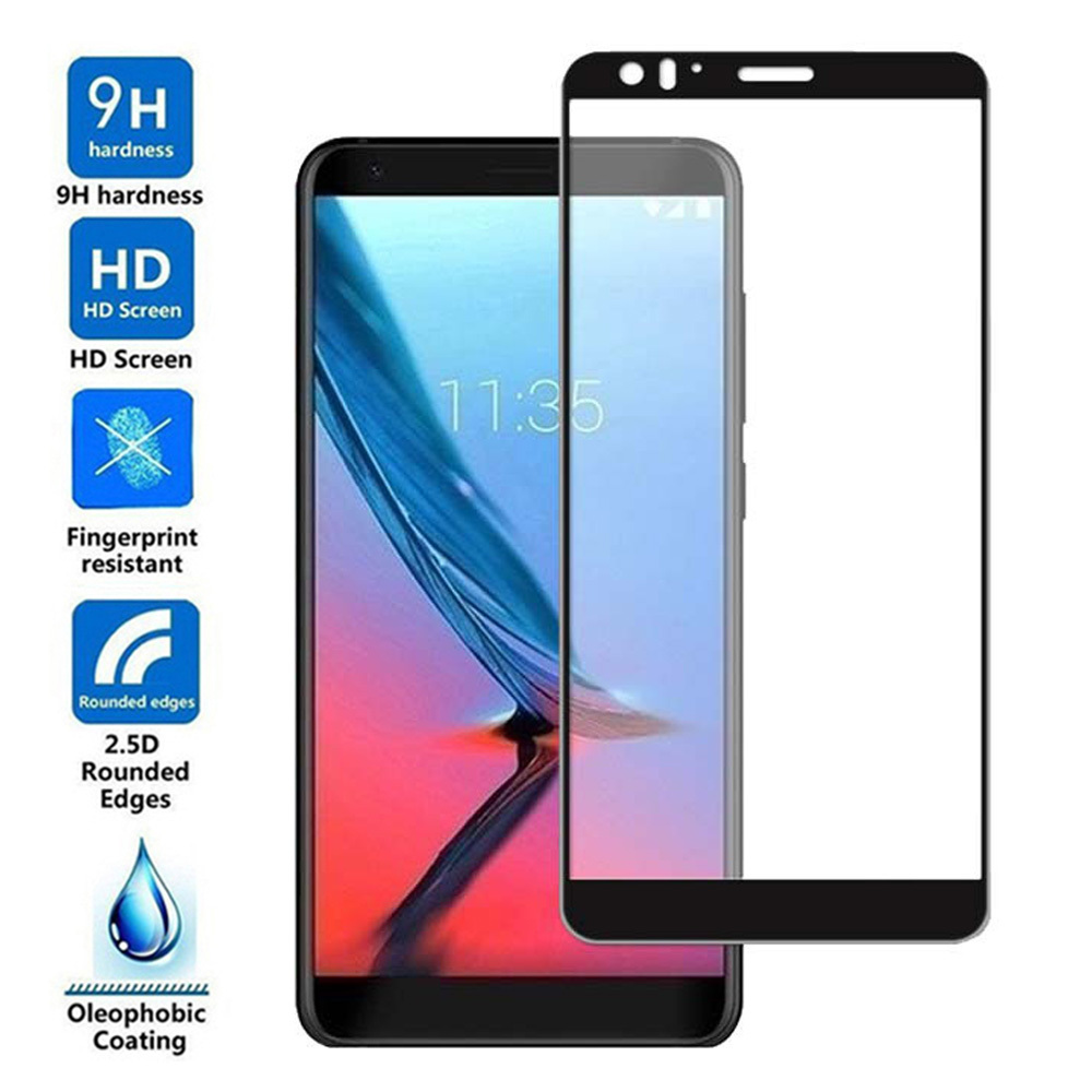 3D 9H Black Tempered Glass For ZTE Blade V9 Explosion-proof Glass Film Screen Protective For ZTE Blade V9 Vita Protective Film