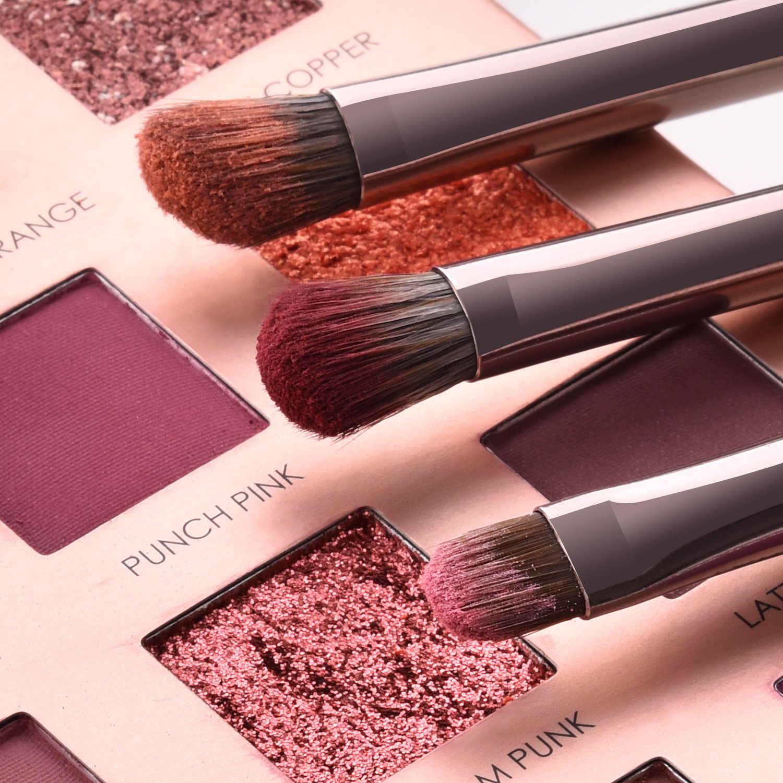 Luksusowy zestaw pędzli do makijażu do podkładu Powder Blush Eyeshadow Concealer Lip Eye Cosmetics przybory kosmetyczne pędzel do makijażu