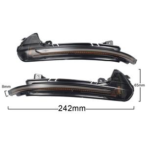 Image 5 - Dinámica de luz LED de intermitente lateral espejo indicador Reemplazar directamente OEM Original para Audi A6 C7 C7.5 RS6 S6 4G 2012 2018