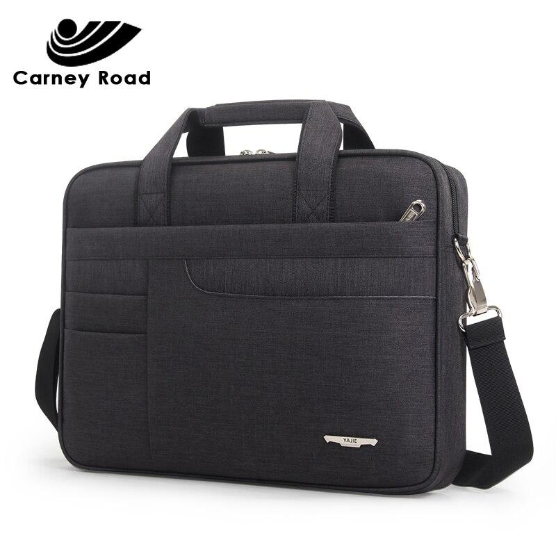 Brand Waterproof Men Women 14 15.6 Inch Laptop Briefcase Business Handbag For Men Large Capacity Messenger Shoulder Bag