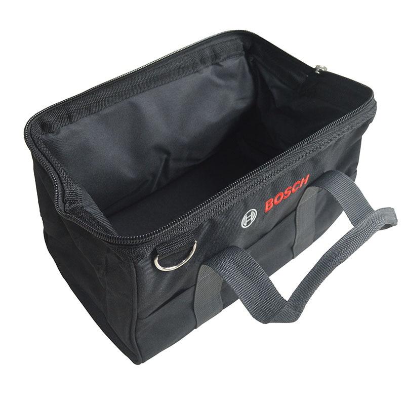 Bosch Tool Box Storage Box Trash Double Layer Hardware Tools Plastic Multi-functional Finishing Box Tool Bag