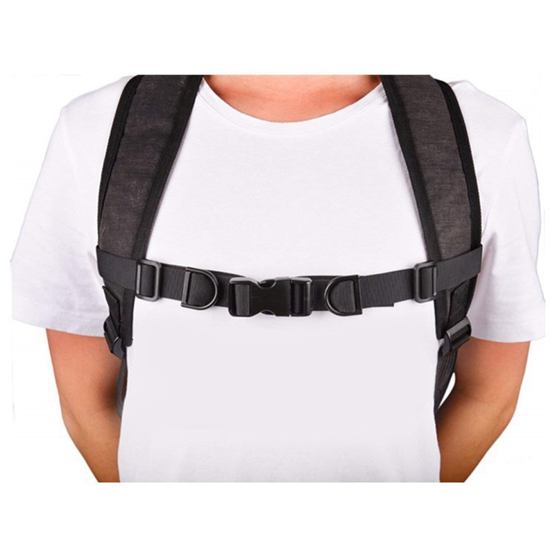 Adjustable Chest Strap Harness Buckle Anti Slip Shoulder Bag Rope Backpack Accessories Outdoor Sports