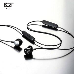 Image 4 - AK KZ BTEบลูทูธBA + DDหูฟังHybrid HIFI Bassหูฟังตัดเสียงรบกวนพร้อมไมโครโฟนAPTX MIC ZS5 ZS6 AS10 ZST