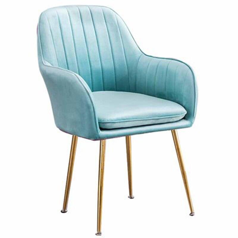 Обеденные стулья U-образной формы, минималистичное кресло в скандинавском стиле ins, мебель для домашней столовой, мягкий стул, Современная л...