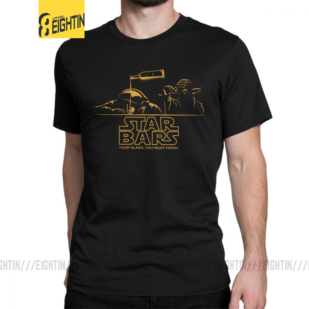 Man's Star Wars T Shirts Your Glass You Must Funish T-Shirts Popular O Neck Short Sleeved Tops Purified Cotton Tee Shirt Gift