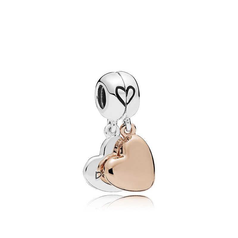 MOM Love Charms CZ ลูกปัดเครื่องประดับทำจี้สร้อยข้อมือ Charm & bange & สร้อยคอ trinket Charms Fit สร้อยข้อมือ Pandora