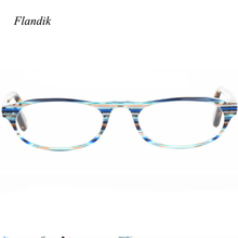 Tortoise Acetate Frame Reading Glasses Men Women Ultralight Mini Myopia Presbyopic Prescription Eyeglasses High Quality