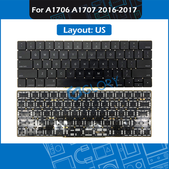10pcs/Lot US Layout Keyboard for MacBook Pro Retina 13'' 15'' A1706 A1707 Keyboard Replacement 2016 2017