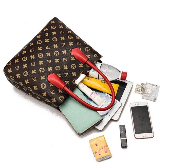 Vintage Frauen Umhängetasche Schulter Tasche Retro Casual Weibliche Kausal Big Kapazität Totes Handtaschen Messenger Schulter Ta in Top Handle Bags from Luggage Bags