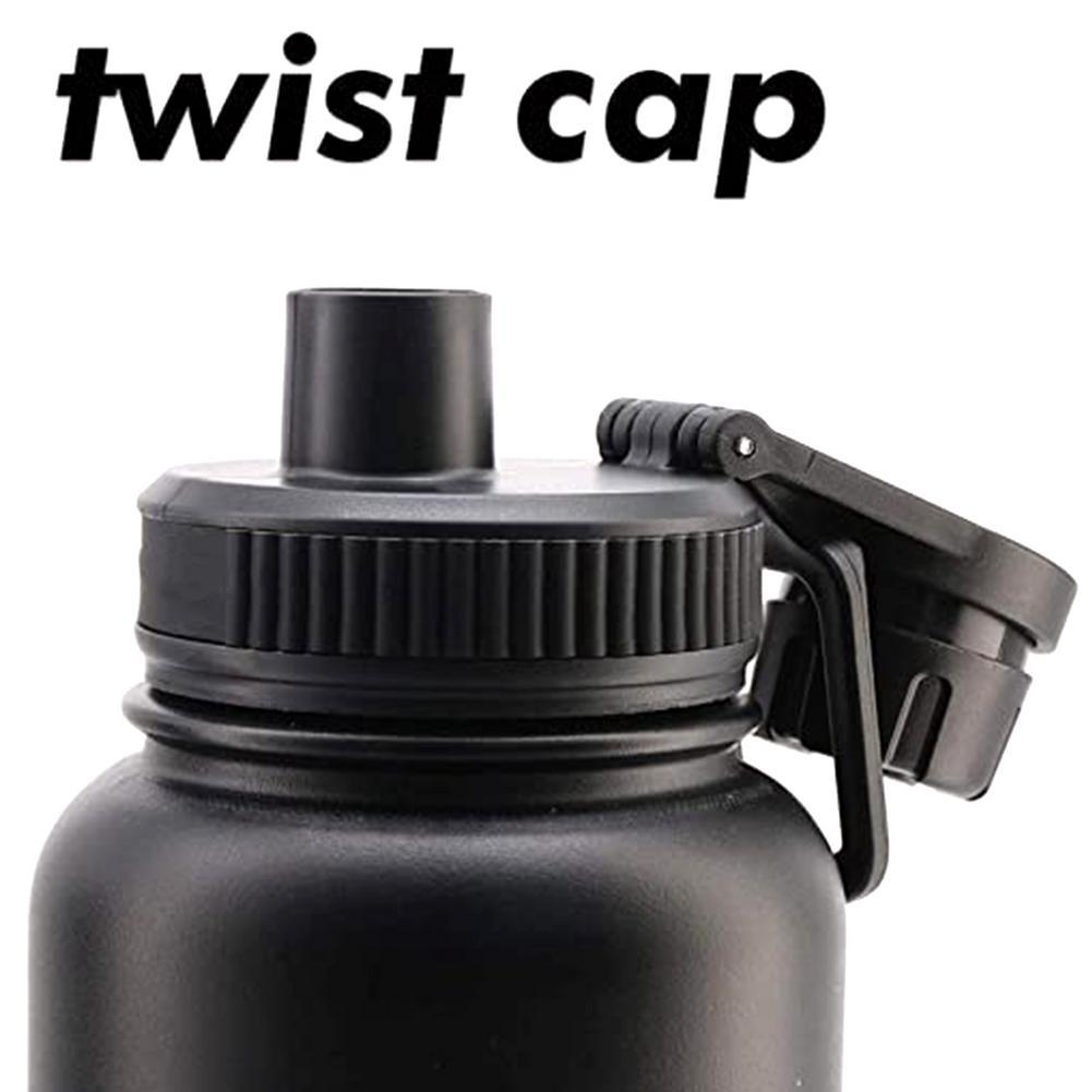 Straw-Cap Replacement-Lid Flask Vacuum-Bottle Wide-Mouth-Nozzle-Cap Hydro PP Portable