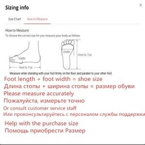 Image 3 - 여성 부츠 2020 겨울 새로운 정품 가죽 여성 부츠 두꺼운 모직 따뜻한 면화 신발 플러스 크기 35 43 발목 부츠 여성