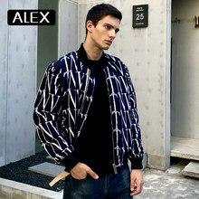 Alex Plein – blouson d'hiver pour homme, Streetwear, chaud et élégant, avec lettres Graffiti, vêtements de loisirs, à la mode, meilleure vente, nouvelle collection