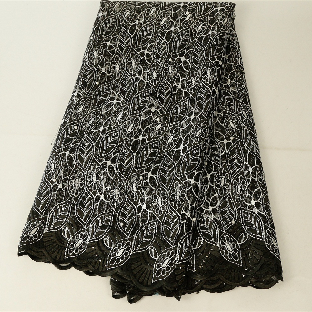 Best Selling French Lace Fabric 2019 High Quality African Beaded Lace Fabric Nigerian Tulle Mesh Lace Fabrics For Wedding