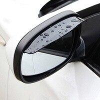 Automotive Car Rear View Mirror Protector Rain Guard Mirror Protector Rain Eyebrow Rear View Mirror Visor Shade|Awnings & Shelters| |  -