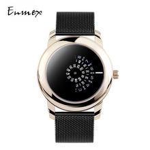 Часы наручные enmex женские кварцевые подарок для девушки креативный