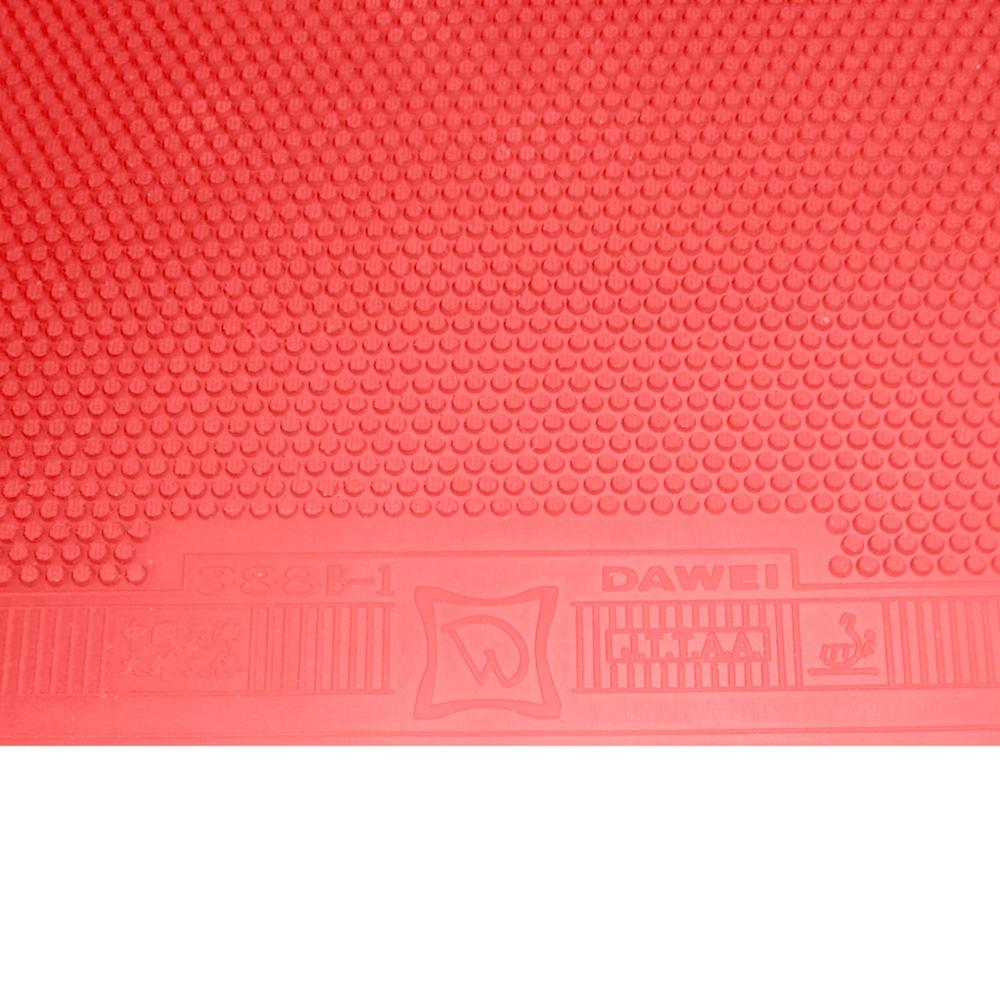 Dawei 388B-1 Short Pips Out Table Tennis Rubber Without Sponge OX
