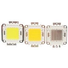 10 Вт, 20 Вт, 30 Вт, 50 Вт, 100 Вт, белый/теплый белый/RGB светодиодный светильник, постоянный ток 9 в-38 в, монолитный блок микросхем встросветодиодный ...