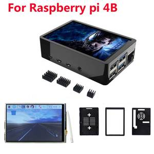Lcd-Display Abs-Case Touch-Pen Raspberry Pi 4-Model Dual-Use for Box-Shell 480--320