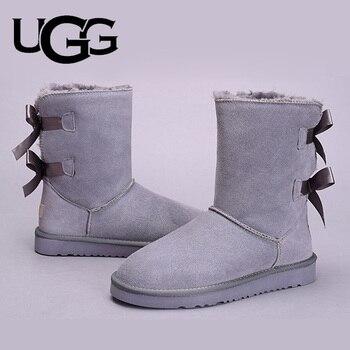 Ugg Australia Boots Women Fur Warm UGG Boots 3280 Original Ladies Uggs Snow Shoes Classic Mini Bailey Bow Boots 2 Ribbon Boot