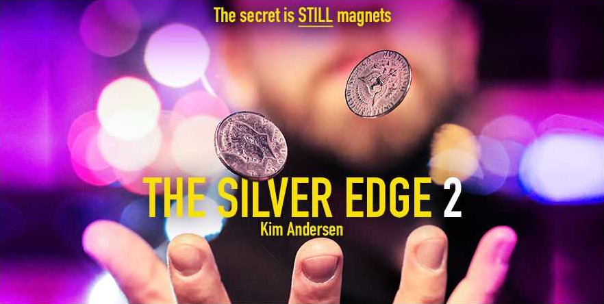 Silver Edge 2 By Kim Andersen- Collection -magic Tricks