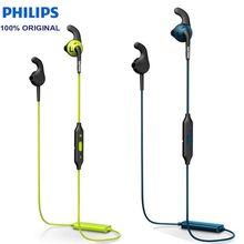 פיליפס SHQ6500 Neckband Bluetooth אלחוטי אוזניות אוזניות בס עמיד למים אוזניות עם מיקרופון עבור Iphone X