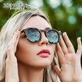ZENOTTIC винтажные ацетатные круглые поляризованные солнцезащитные очки для мужчин/женщин, модные брендовые дизайнерские солнцезащитные очки...